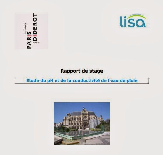 rapport de stage  etude du ph etdela conductivit u00e9 de l